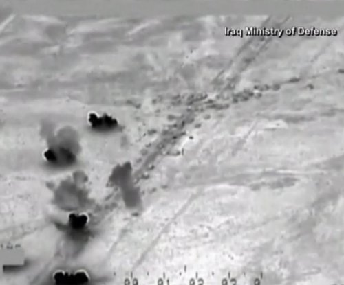 Iraqi, U.S. airstrikes destroy 500 Islamic State vehicles fleeing Fallujah