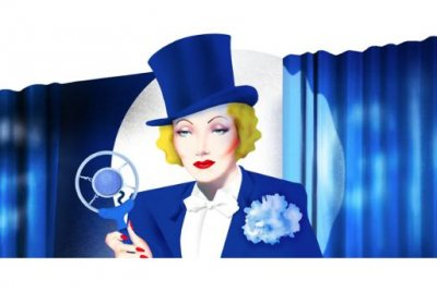 Google honors actress Marlene Dietrich with new Doodle