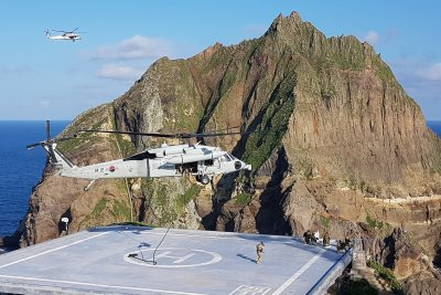 South Korea defends military exercises near disputed Dokdo Islets