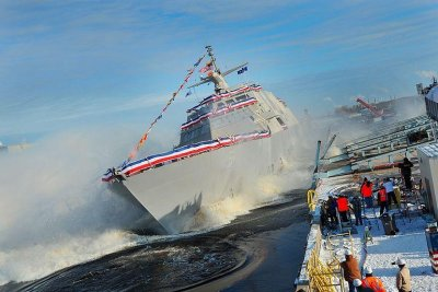 U.S. Navy accepts delivery of future USS Milwaukee