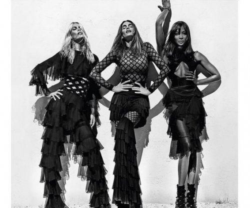 Cindy Crawford, Naomi Campbell, Claudia Schiffer star in Balmain ad