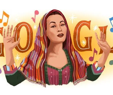 Google pays tribute to 'Peruvian songbird' Yma Sumac with new Doodle