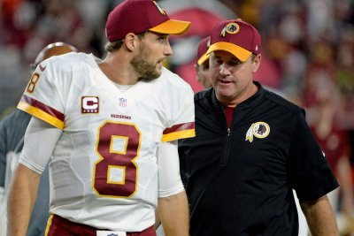 Washington Redskins QB Kirk Cousins learns of refuted trade 'demand' in shoe store