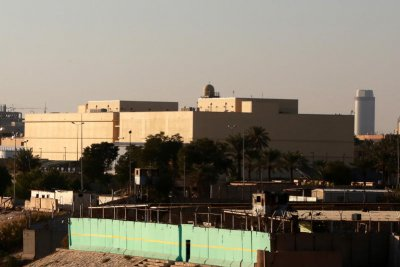 Rocket attack on U.S. embassy in Iraq injures at least one person