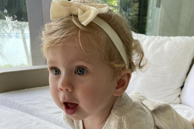 Anna Kournikova celebrates daughter Mary's first birthday