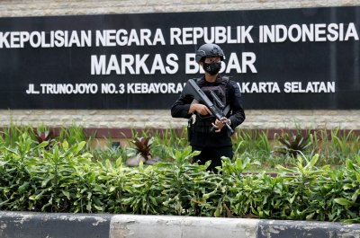 Woman gunned down by Indonesia police was 'lone wolf,' authorities say