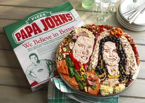 Papa John's makes royal wedding pizza