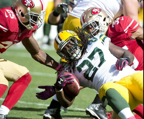 Green Bay Packers RB Eddie Lacy dealing with soreness