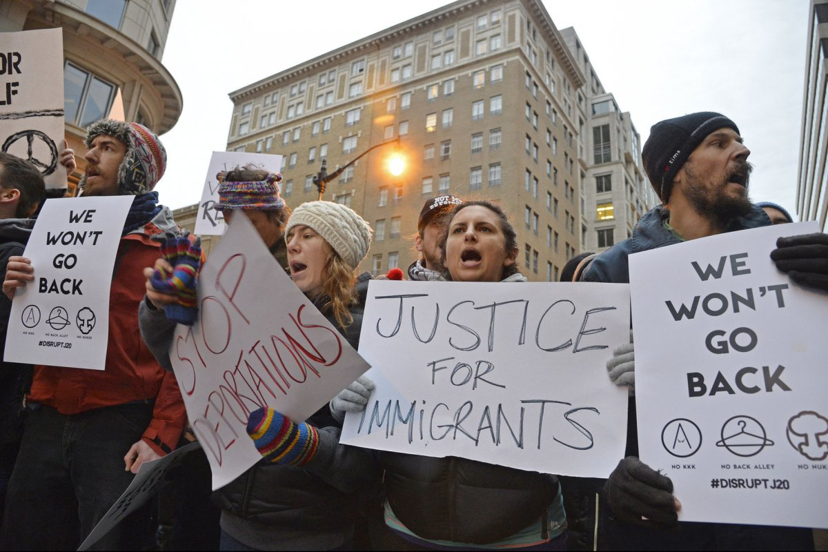 Image result for 3.Trump's administration's policy protected undocumented immigrants