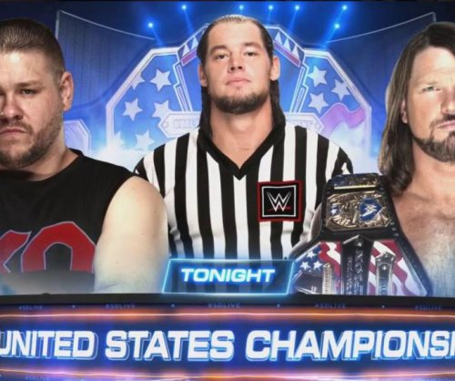 WWE Smackdown: AJ Styles defends U.S. title against Kevin Owens