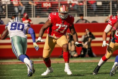 San Francisco 49ers trade tackle Trent Brown to New England Patriots
