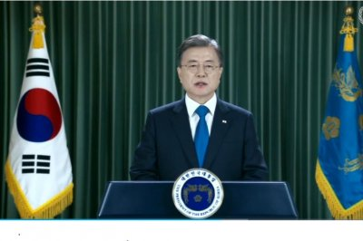 South Korea president calls for 'permanent peace regime' in U.N. speech