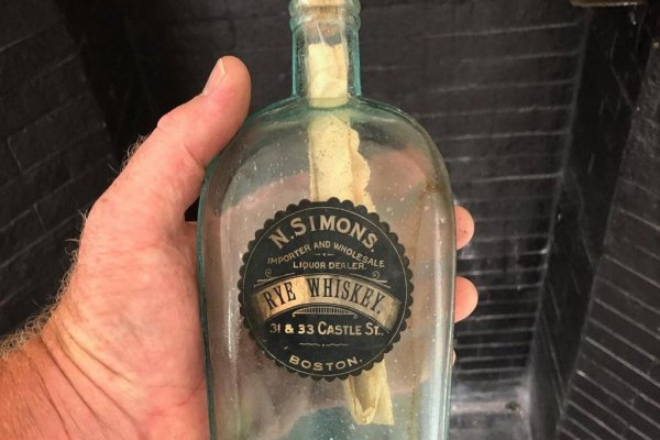 126-year-old message in a bottle found inside Boston wall