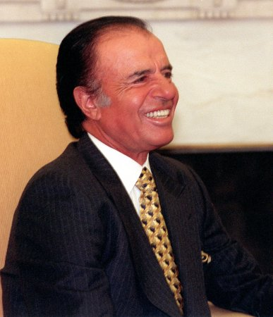 Ex-Argentina president Menem to be tried