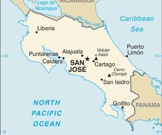 Costa Rica issues alert after ship carrying ammonium nitrate sinks off Pacific coast