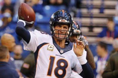 Report: Denver Broncos' Peyton Manning has torn plantar fascia in foot