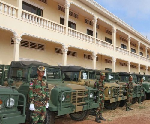 South Korea donates over 200 military vehicles to Cambodia
