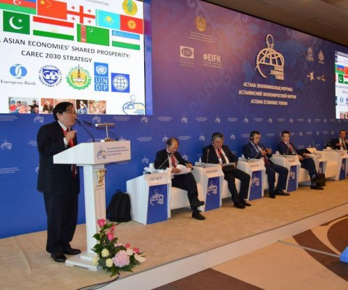 Oil-rich Kazakhstan gets backing for more regional cooperation