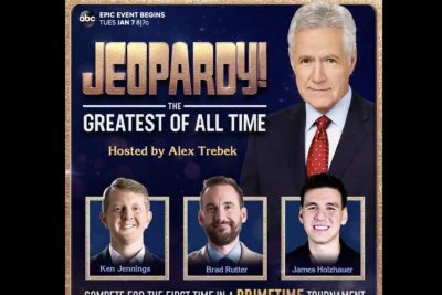 'Jeopardy!': Ken Jennings, Brad Rutter, James Holzhauer to compete in January