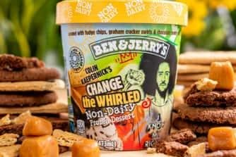 Ben & Jerry's partners with Colin Kaepernick for 'Change the Whirled' flavor