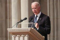Joe Biden remembers late Sen. John Warner as 'man of conscience'