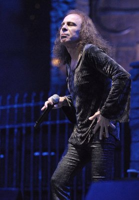 Ronnie James Dio battling stomach cancer