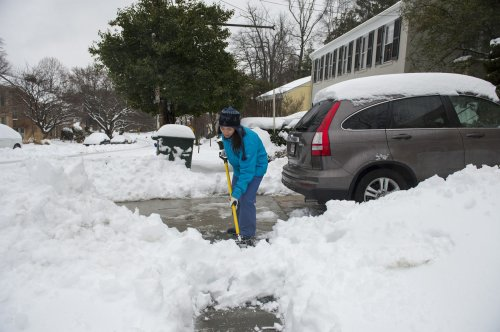 Another storm brings more snow to winter-weary East Coast