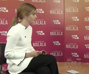 Watch: Emma Watson, Malala Yousafzai discuss embracing feminism