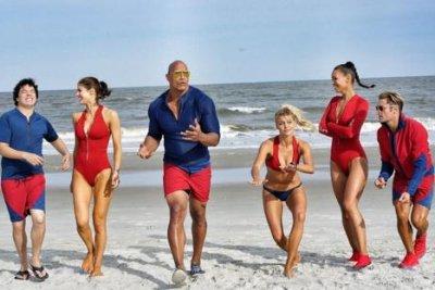 Dwayne Johnson shares first 'Baywatch' cast photo
