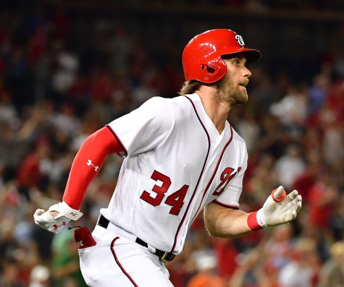 Washington Nationals OF Bryce Harper: I'm 'a long ways from running'