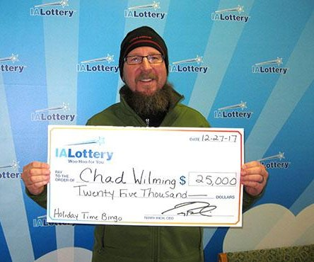 Iowa man thought $25,000 lottery prize was only $25 due to scratching error