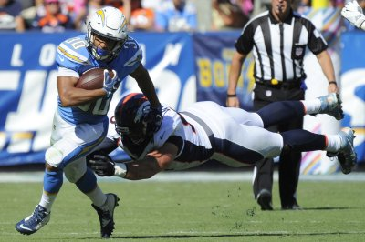 Status of Los Angeles Chargers' Austin Ekeler in question vs. Chiefs
