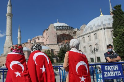 Turkey's Hagia Sophia opens as mosque for 1st time in 86 years