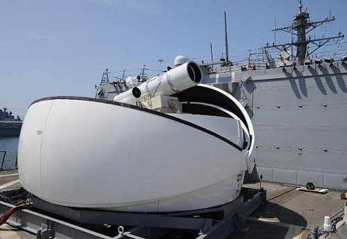 Navy developing laser weapon for U.S. Marines