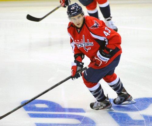 Tom Wilson delivers huge hit to Lubomir Visnovsky