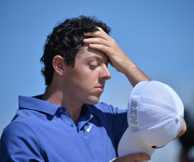 McIlroy ruptures ankle ligament, could miss British Open