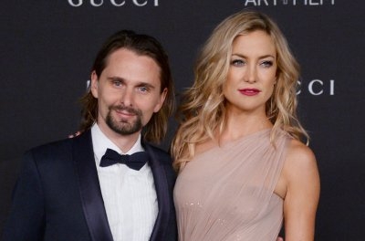 Matthew Bellamy, girlfriend Elle Evans join Kate Hudson in Aspen