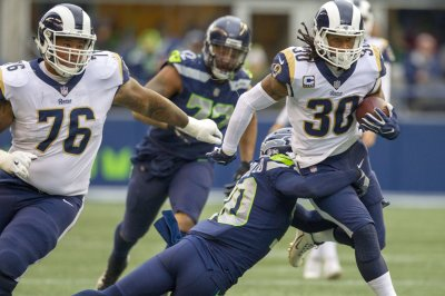 Todd Gurley: Los Angeles Rams RB wins Offensive Player of Month honors for second time