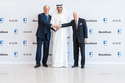 Abu Dhabi signs 23-year, $4B lease with Blackrock, KKR