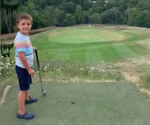 4-year-old golfer hits hole-in-one in West Virginia