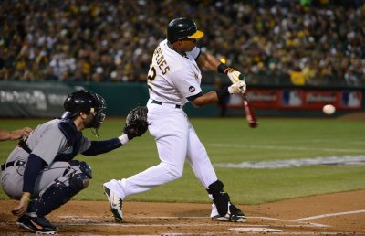 Athletics' Yoenis Cespedes on 15-day DL with hand injury