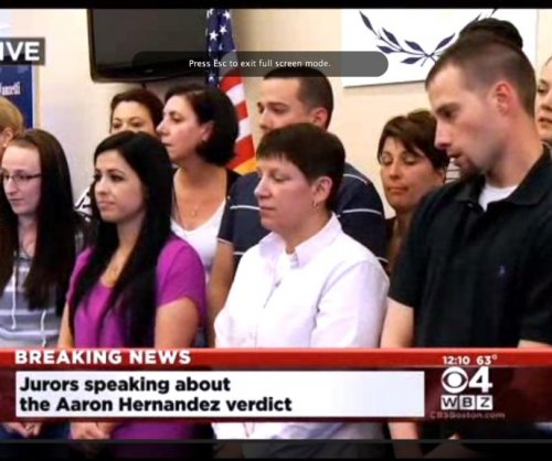 Guilty: Former NFL player Aaron Hernandez will spend life in prison, no chance of parole