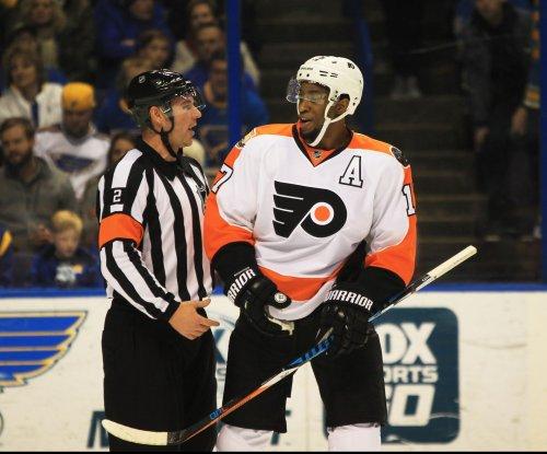 Wayne Simmonds, Philadelphia Flyers beat San Jose Sharks in OT