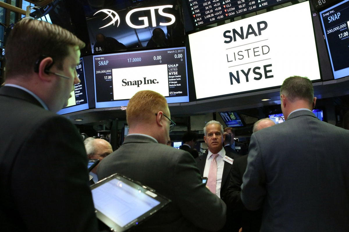 goldman sachs news photos quotes wiki com shares of snap surge on nyse after high priced ipo