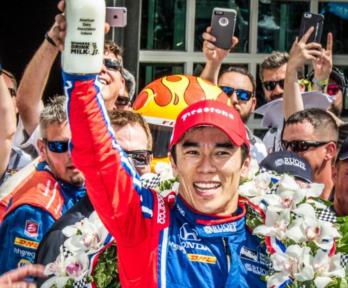 Takuma Sato becomes first Japanese driver to win Indy 500