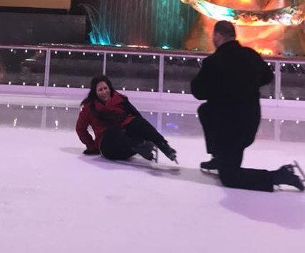New York ice rink proposal has slippery surprise ending