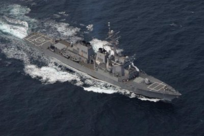 Destroyer USS Ross heads to Black Sea