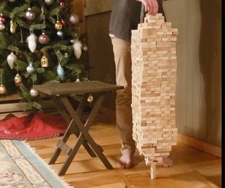 British Columbia 12-year-old breaks Jenga stacking world record