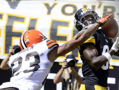 Steelers WR Antonio Brown may face fines for flying kick to Browns punter's face