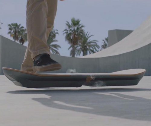 Lexus teases 'working, ridable hoverboard' with online video